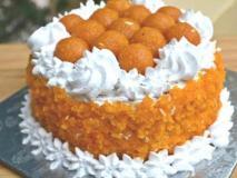 लोकसभा चुनाव: BJP ने जश्न मनाने के लिए दिया 'कमल बर्फी' और लड्डू केक का ऑर्डर