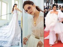 कान में ऐश्वर्या से दीपिका-कंगना तक सभी ने बिखेरा 'वाइट मैजिक', देखें किसने पहनी किस डिज़ाइनर की वाइट ड्रेस