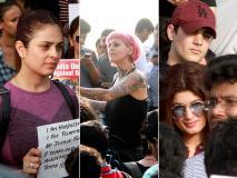 कठुआ गैंगरेप: बॉलीवुड सेलेब ने इंसाफ के लिए मुंबई में निकाला मार्च