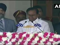 तेलंगाना: केसीआर ने दूसरी बार मुख्यमंत्री पद की शपथ ली