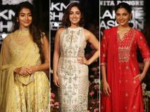 ग्लैमर्स लुक में नजर आईं नेहा धूपिया, यामी गौतम और पूजा हेगडे, लेक्मे फैशन वीक में लगा इंडियन-फ्यूजन का तड़का- देखें तस्वीरें