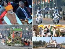 राजपथ पर गणतंत्र दिवस परेड का भव्य आयोजन, तस्वीरों में देखिए शौर्य और संस्कृति के अनूठे रंग