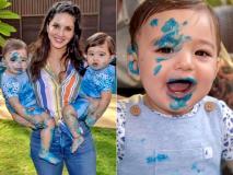 सनी लियोन ने खास अंदाज में मनाया जुड़वा बेटों का पहला जन्मदिन, आप भी देखें क्यूट पिक्स