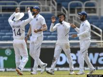 WI का सूपड़ा साफ कर टेस्ट चैंपियनशिप में टॉप पर टीम इंडिया, देखें मैच की फोटोज