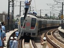 दिल्ली मेट्रो की 'येलो लाइन' पर ब्रेक, जाम से बेहाल लोग,कई यात्रियों नेट्विटर परगुस्सा दिखाया