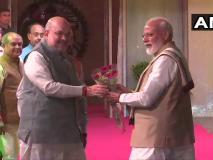 अशोका होटल में शाह ने एनडीए नेताओं को डिनर पर बुलाया, पीएम मोदी, नीतीश सहित कई दिग्गज पहुंचे