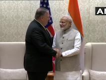 अमेरिकी विदेश मंत्री माइक पोम्पिओ ने की PM मोदी से मुलाकात, अहम सामरिक मुद्दों पर चर्चा