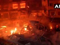 दिल्ली के कीर्तिनगर फनीर्चर मार्केट में लगी भीषण आग, दमकल की 10 गाड़ियां मौजूद