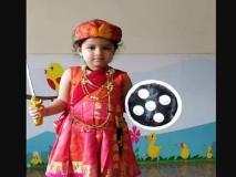 स्वतंत्रता दिवस के मौके पर पर धोनी की बेटी जीवा बनी झांसी की रानी लक्ष्मीबाई, वायरल हुआ वीडियो