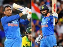 Ind vs Aus, 2nd ODI: कोहली के शतक के बाद धोनी ने दिलाई टीम इंडिया को जीत, सीरीज 1-1 से बराबर