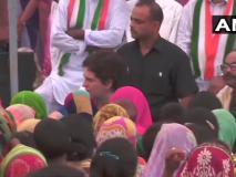 कांग्रेस महासचिव प्रियंका गांधी ने वादा निभाया, उम्भा गांव पहुंचीं, पीड़ित परिवार से की मुलाकात