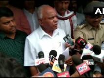 कर्नाटक के मुख्यमंत्री बी एस येदियुरप्पा ने कहा- बाढ़में घर खोने वालों को 5-5 लाख रुपये की सहायता दी जाएगी