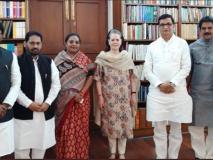 महाराष्ट्र कांग्रेस के नेता सोनिया गांधी से मिले, विधानसभा चुनाव और बाढ़ पर की चर्चा