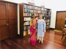 कांग्रेस का दामन थाम सकती हैं आप कीबागी विधायक अलका लांबा,सोनिया गांधी से मिलीं चांदनी चौक की MLA