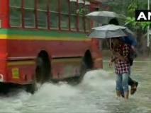 मुंबई में भारी बारिशःचार की मौत, तीन लोग नाले में बहे, यातायात का बुरा हाल