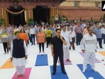 संसद भवन परिसर में'फिट इंडिया' का आयोजन,जीवन में हम एक लक्ष्य बनाकर फिटनेस को प्राप्त कर सकते हैंः बिरला
