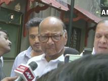 महाराष्ट्रः पवार की पॉवर, शिवसेना चीफ़ उद्धव ठाकरे पहुंचे NCP प्रमुख के घर