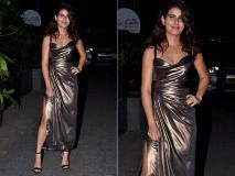 Photos: सिंगल ड्रेस में फातिमा सना शेख का दिखा हॉट लुक, बांद्रा की सड़कों पर आईं नजर