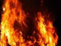 कोलकाता के उत्तरी 24 परगना जिले केझुग्गियों में लगी आग,बुजुर्ग व्यक्ति की मौत