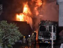 दिल्ली: केशवपुरम में एक जूता फैक्ट्री में लगी आग, दमकल की 22 गाड़ियां मौके पर मौजूद