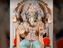 21 लाख रुपये के करंसी नोटों से बनी गणपति की प्रतिमा की रखवाली पुलिस कर रही दिन-रात, दिव्यांग कलाकार ने बनाए 12 फुट ऊंचे बप्पा