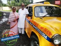 #KuchhPositiveKarteHain:मिलिए कोलकाता के इस टैक्सी ड्राइवर से जो हमारे समाज के लिए एक मिसाल हैं