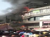 गुजरात कांग्रेस ने सूरत में आग लगने की घटना को बताया हत्या, मुख्यमंत्री के की इस्तीफे की मांग