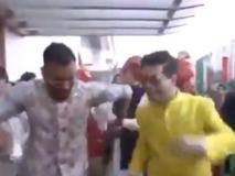 हार्दिक पंड्या ने किया 'दूल्हे' आकाश अंबानी के साथ जमकर डांस, एंट्री गेट पर थिरके, वीडियो वायरल