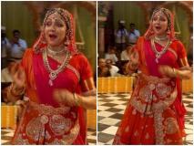 हरियाली तीज से पहले हेमा मालिनी ने वृंदावन में किया ऐसा डांस, वायरल वीडियो देख खो जायेंगे आप