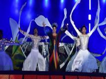 हॉकी वर्ल्ड कप 2018 का रंगारंग आगाज, शाहरुख समेत माधुरी दीक्षित और एआर रहमान ने बांधा समां