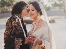 भारत-पाक लेस्बियन कपल ने की रॉयल वेडिंग, देखें इनकी शादी की खूबसूरत तस्वीरें