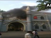 मध्यप्रदेश: जबलपुर हाई कोर्ट में लगी भीषण आग