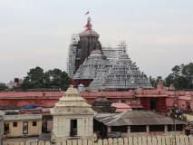एएसआईने श्री जगन्नाथ मंदिर के लॉयन्स गेट पर 'जय' और 'विजय' की दो मूर्तियां स्थापित कीं