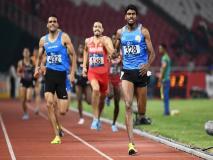 एशियन गेम्स: जिनसन जॉनसन ने 1500 मीटर में जीता गोल्ड, चित्रा और सीमा पूनिया को भी ब्रॉन्ज मेडल