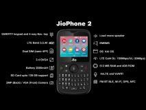 Jio Phone 2 की आज फ्लैश सेल, दोपहर 12 बजे यहां होगी बिक्री