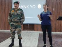 भारतीय वायुसेना की लड़ाकू पायलट जुबिक्शा ठाकुर लड़कियों में भर रहीं कुछ कर गुजरने का जोश