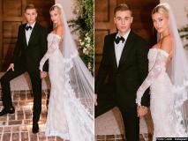 जस्टिन बीबर और हेली बाल्डविन ने की दूसरी बार शादी, देखें वेडिंग का खूबसूरत एलब्म