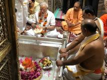 सामने आई पीएम नरेंद्र मोदी के जन्मदिन की तस्वीर, काशी विश्वनाथ से लिया आशीर्वाद