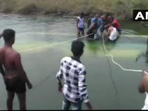 कर्नाटक: ड्राइवर की लापरवाही से नहर में गिरी बस, स्कूली बच्चों समेत 25 लोगों की मौत, सीएम मौके पर रवाना