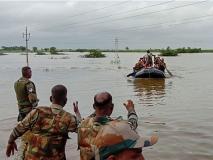 कर्नाटक बाढ़ः सेना की विदाई के समय डबडबा आईं ग्रामीणों की आंखें, कहा- जान बचाने के लिए शुक्रिया