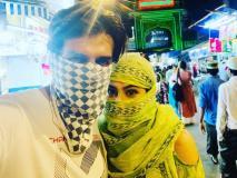 कार्तिक आर्यन और सारा अली खान मुंह पर कपड़ा बांध देर रात पहुंचे पब्लिक प्लेस पर, कुछ ऐसे मनाई ईद