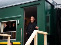 किम जोंग की ट्रेन ने रशिया में किया रेड कार्पेट मिस, मजेदार वीडियो हो रहा वायरल