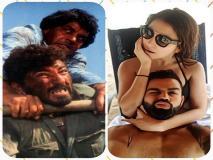विराट कोहली-अनुष्का शर्मा की इस रोमांटिक तस्वीर पर जमकर बने मजेदार मीम्स, हुए वायरल
