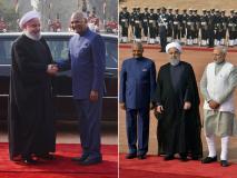 पीएम मोदी और राष्ट्रपति कोविंद ने ईरान के राष्ट्रपति रूहानी का ऐसे किया स्वागत, देखें तस्वीरें