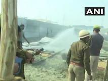 कुंभ 2019ः दिगंबर अखाड़े में सिलेंडर फटने से लगी भीषण आग, दर्जनों टेंट जलकर राख, कोई हताहत नहीं
