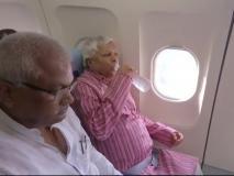 पटना से रांची पहुंचें लालू प्रसाद यादव,कहा-यह देश तानाशाही की ओर बढ़ रहा है