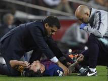 मेसी की चोट से फीका हुआ ला-लीगा में बार्सिलोना की जीत का जश्न, हुए तीन हफ्ते के लिए बाहर
