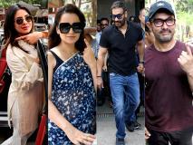 लोकसभा इलेक्शन 2019: प्रियंका चोपड़ा, कंगना रनौत, अजय देवगन, आमिर खान समेत बॉलीवुड के इन स्टार्स ने की वोटिंग, देखें Pics