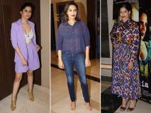 Love Sonia Screening: फ्रीडा पिंटो, स्वरा भास्कर और साई तम्हनकर समेत इन स्टार्स ने देखी फिल्म