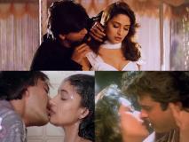 Pics: संजय दत्त से लेकर शाहरुख खान तक माधुरी दीक्षित ने इन स्टार्स के साथ किए थे इंटिमेट सीन्स